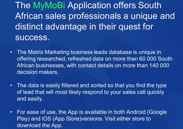 MyMobi App